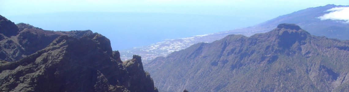 Ebiking on the green island La Palma