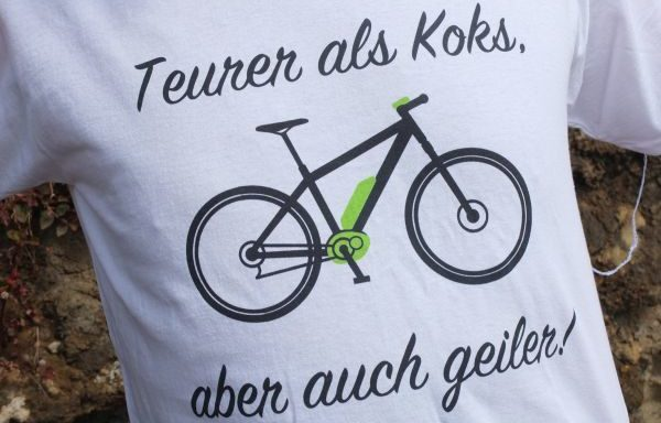 "TShirt ""Koks"" weiß"